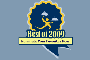 The 2009 Mad Diner Award Nominations are now OPEN!